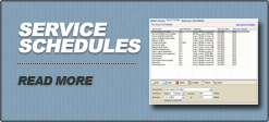 Fleet Service Schedules